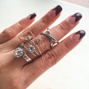 H&M Stacked Rings, great to bundle!